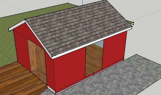 ... Custom Economy Sheds In Atlanta