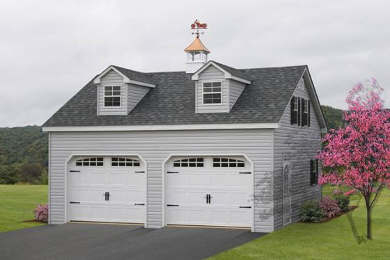 Two story garage twostory aframe garage twostory garages for 2 story garage packages